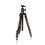 Vanguard Aluminum tripod with ball head, 5 section, 23 mm legs (VEO 235AB)