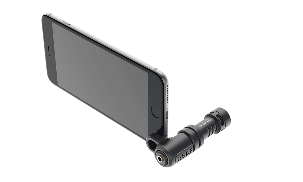 Rode Directional Microphone for iPhone and iPad VideoMic Me - Mobile - RØDE - Helix Camera