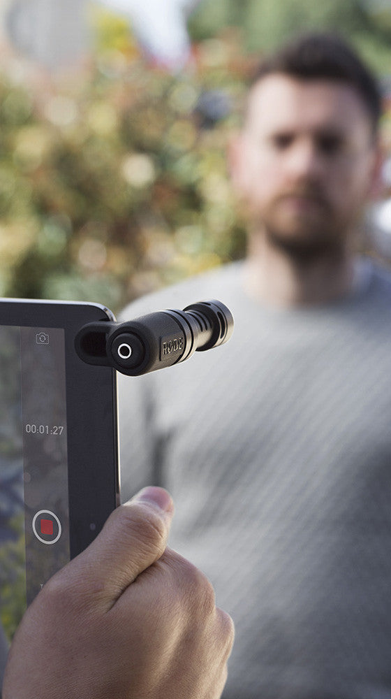 Rode Directional Microphone for iPhone and iPad VideoMic Me