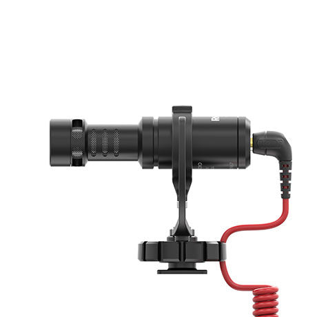 Rode VideoMicro Compact On-Camera Microphone VideoMicro - Audio - RØDE - Helix Camera