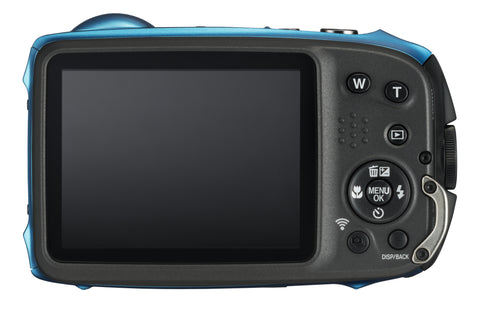 Fujifilm Finepix XP130 Waterproof Camera - Sky Blue