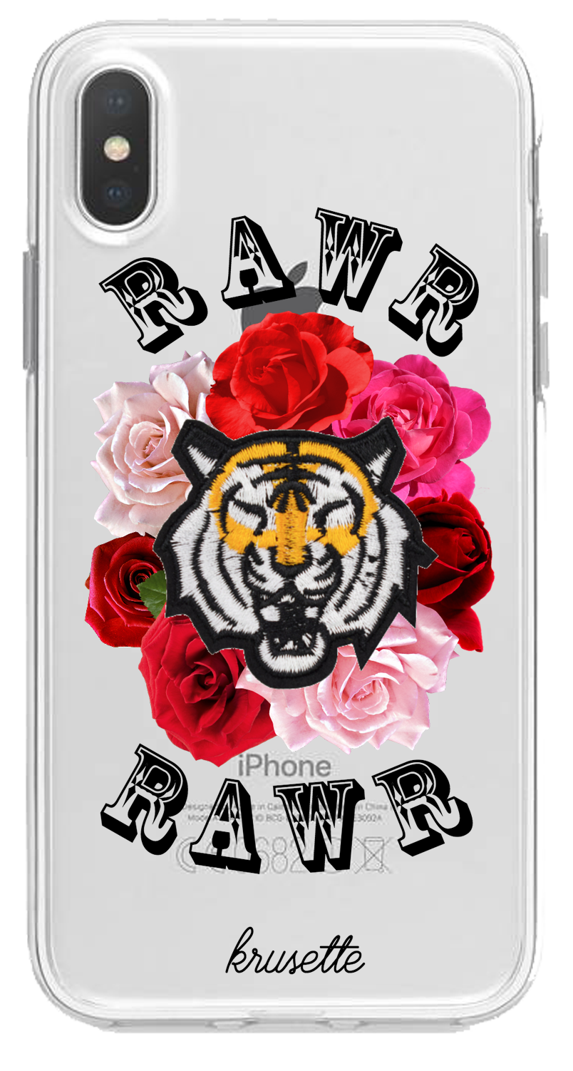 Rawr and Roses - Carcasa de Móvil