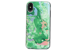 Emerald Holo Marble Battery Power Phone Case