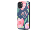 Navy Blooms Battery Power Phone Case