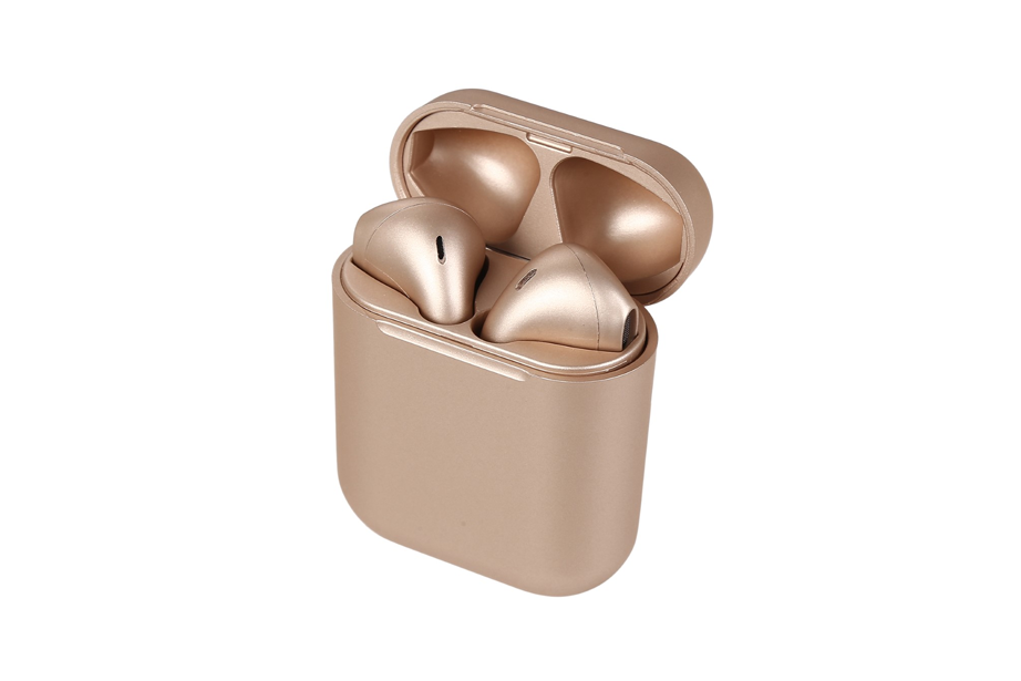 Gold Pearl Wireless Bluetooth Earbuds