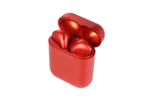 Red Pearl Wireless Bluetooth Earbuds