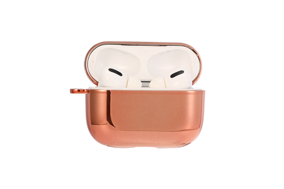 Shiny Rose Gold AirPod Holder