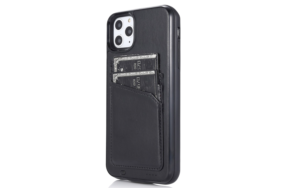 Black Cardholder Battery Case