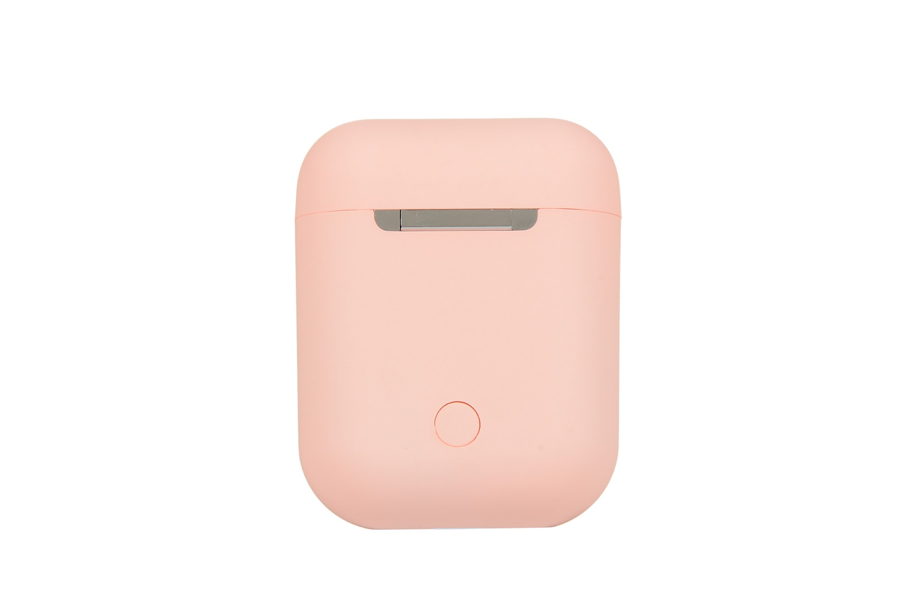 Pastel Pink Wireless Bluetooth Earbuds