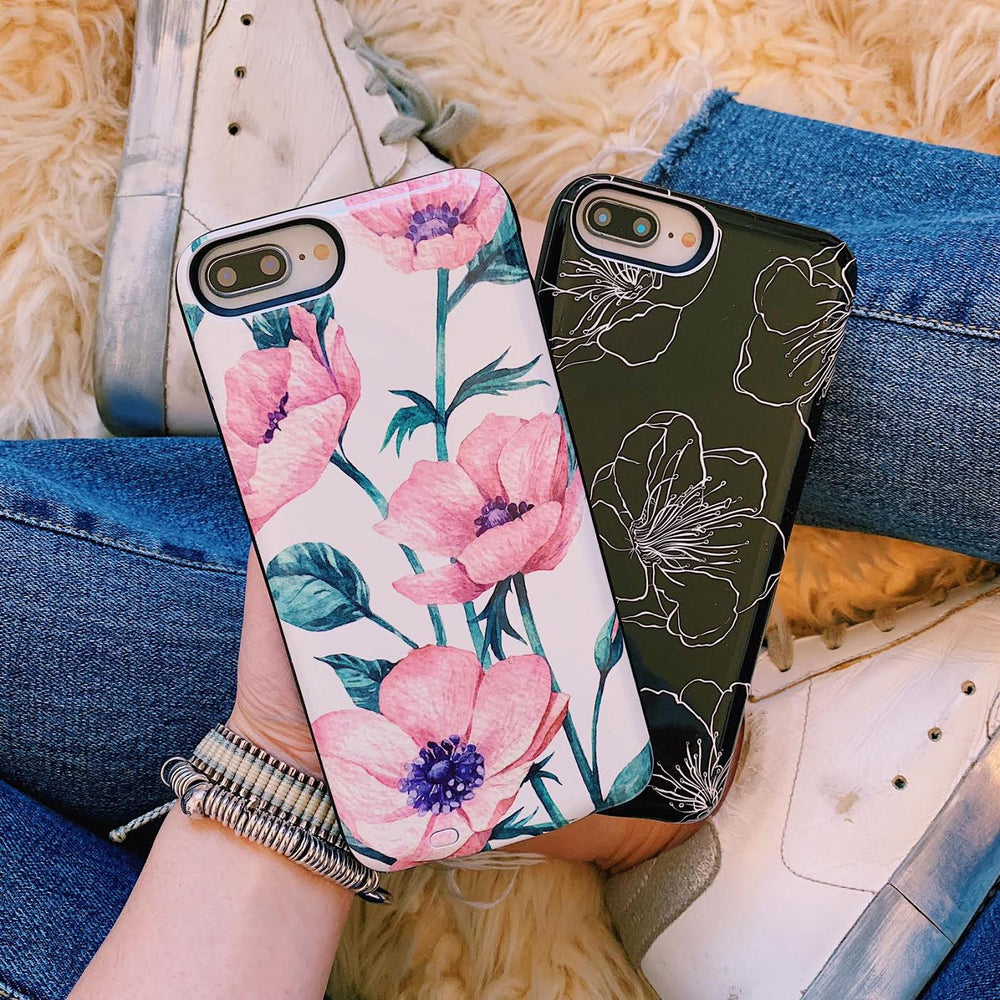 Secret Garden Battery Power Phone Case