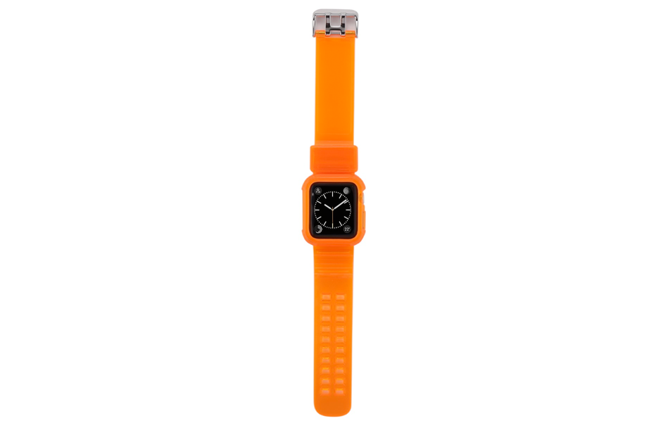 Neon Orange Watch Band