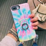 Rainbow Tie Dye Battery Case