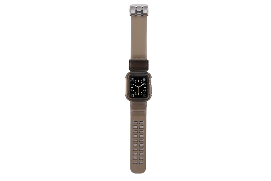 Clear Black Watch Band