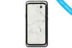White Marble 2-in-1 Magnetic Battery Power Samsung Case