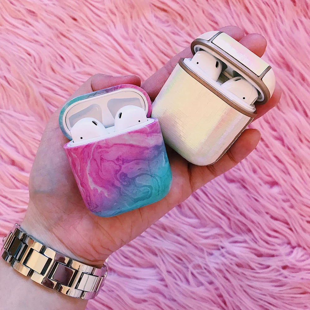 Cotton Candy AirPod Holder