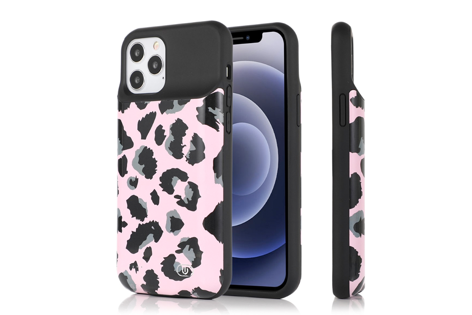 Pink Leopard Ultra Battery Case