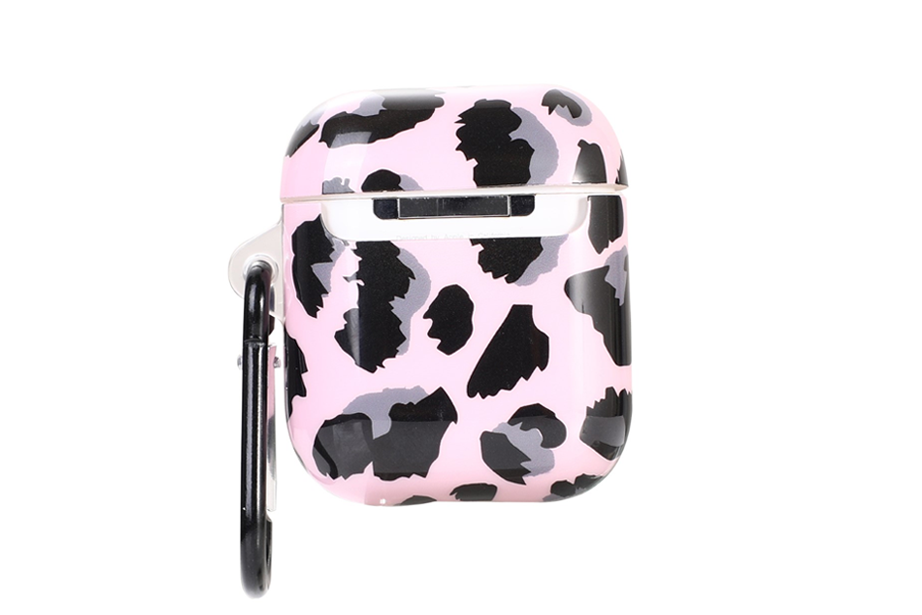 Pink Leopard AirPod Holder