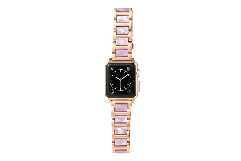 Pearl Pink Link Watch Band