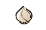 Gold Diamond Ring Holder
