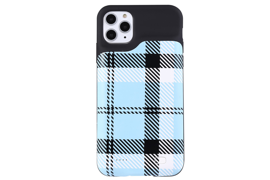 Blue Plaid Ultra Battery Case