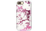 Pink Metallic Marble Battery Power Phone Case