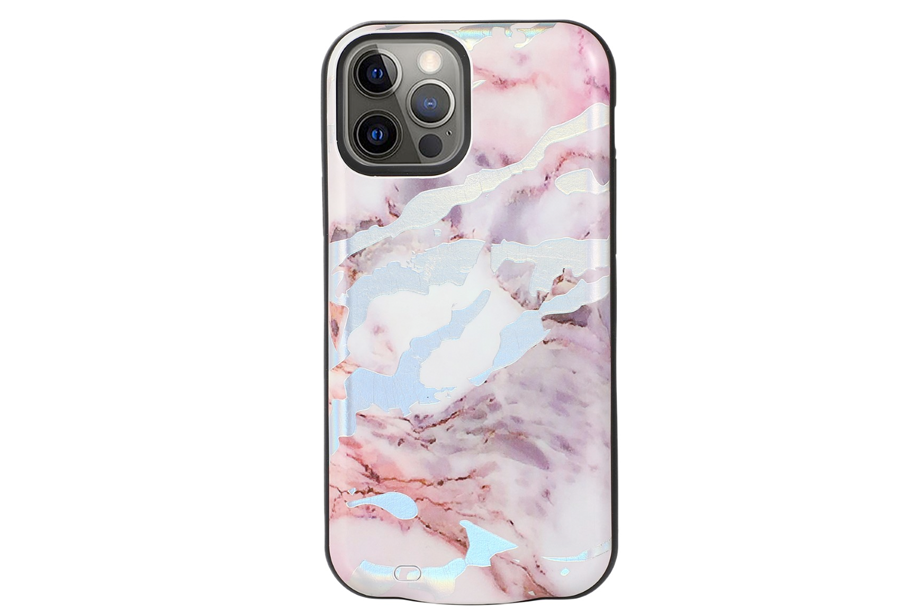 Pastel Holo Marble Battery Case