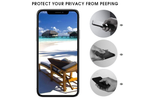 Anti-Peeping Black Glass Shield Protector