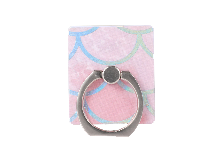 Pink Mermaid Holo Ring Holder