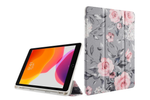Gray Floral iPad Case