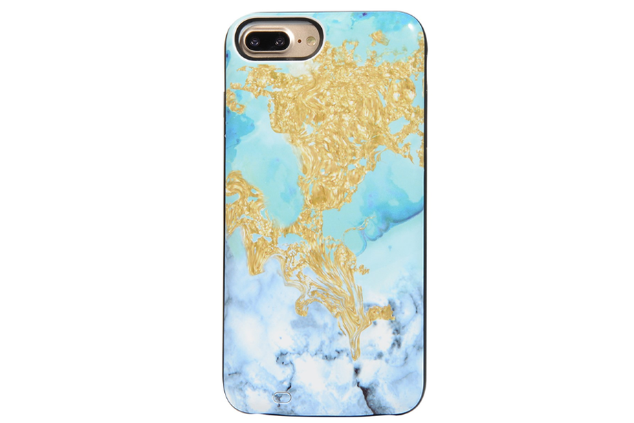 Fantasy Marble Battery Power Phone Case