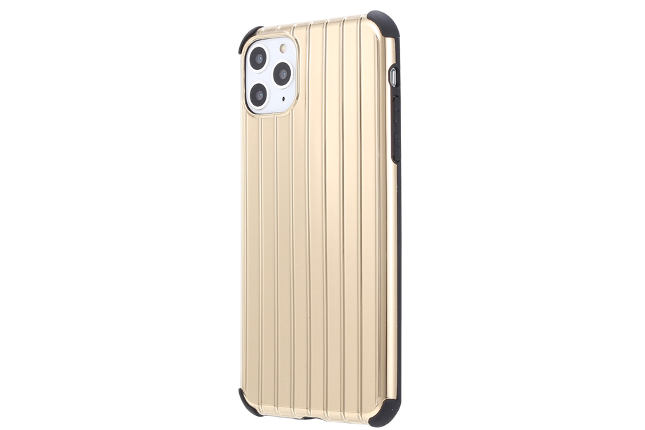Gold Metallic Groove Phone Case