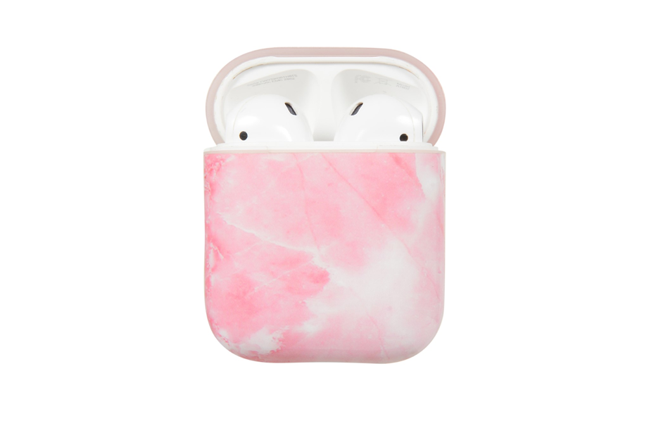 Pink Marble AirPod Holder