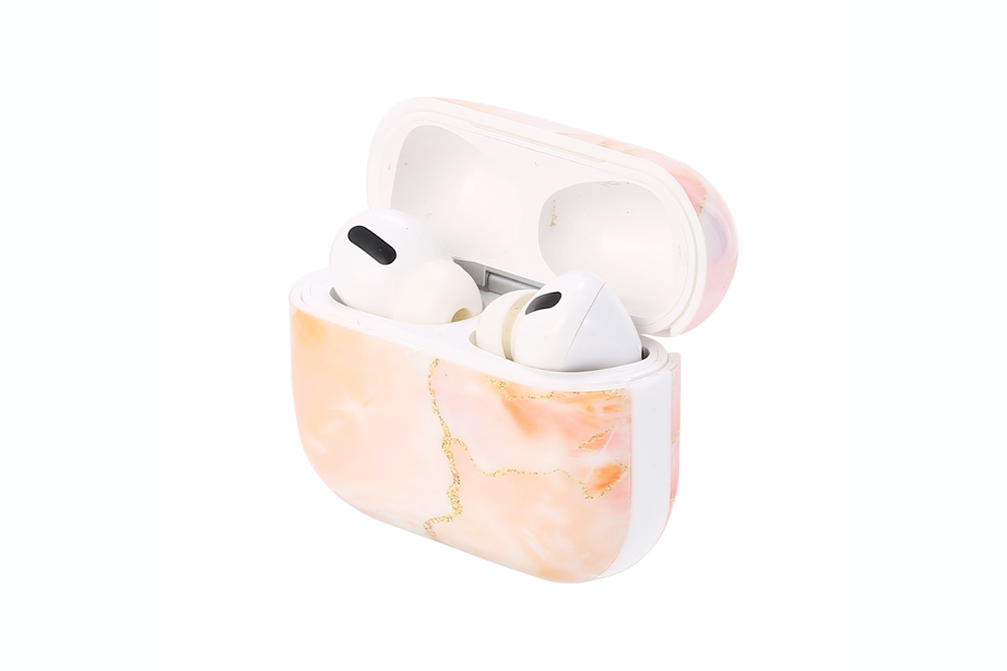 Peach Stone AirPod Holder