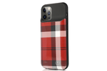 Red Plaid Ultra Battery Case