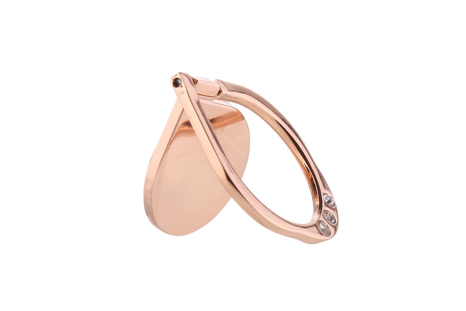 Rose Gold Diamond Ring Holder