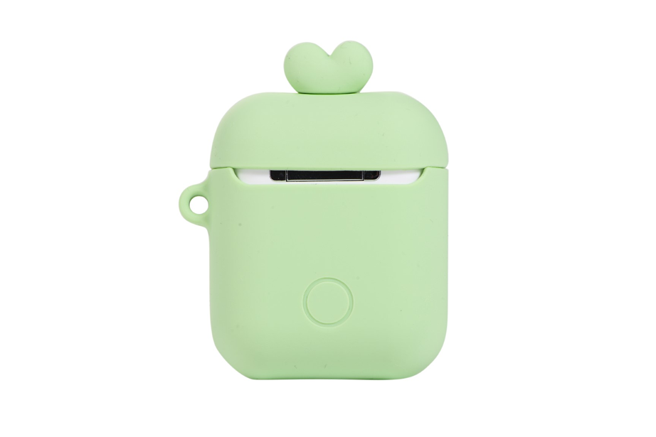 Green Silicone AirPod Holder