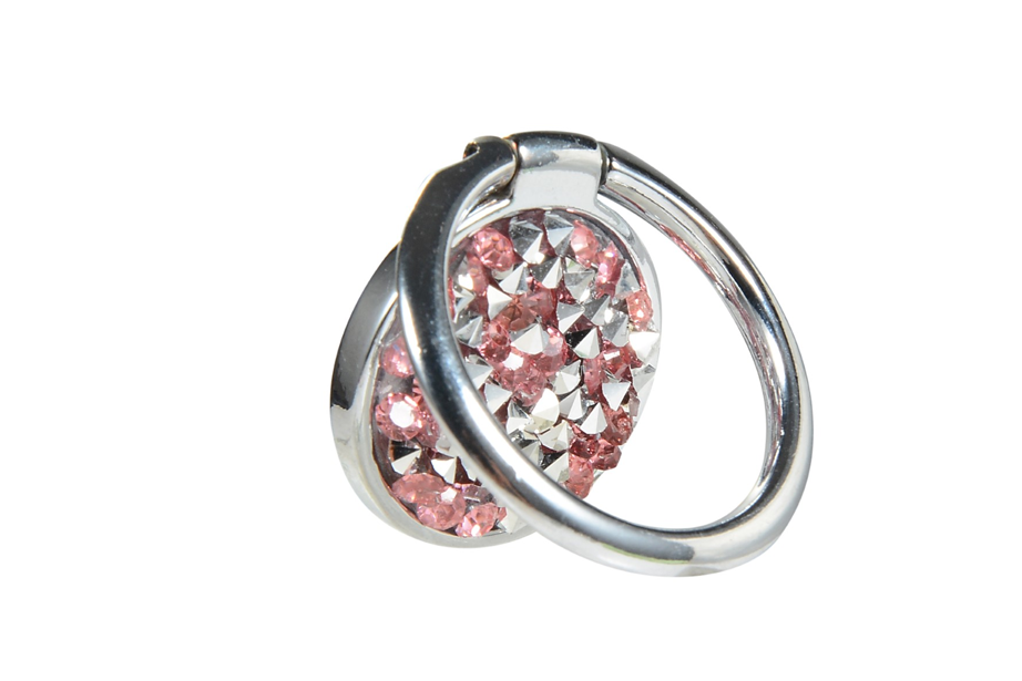 Pink Gem Ring Holder