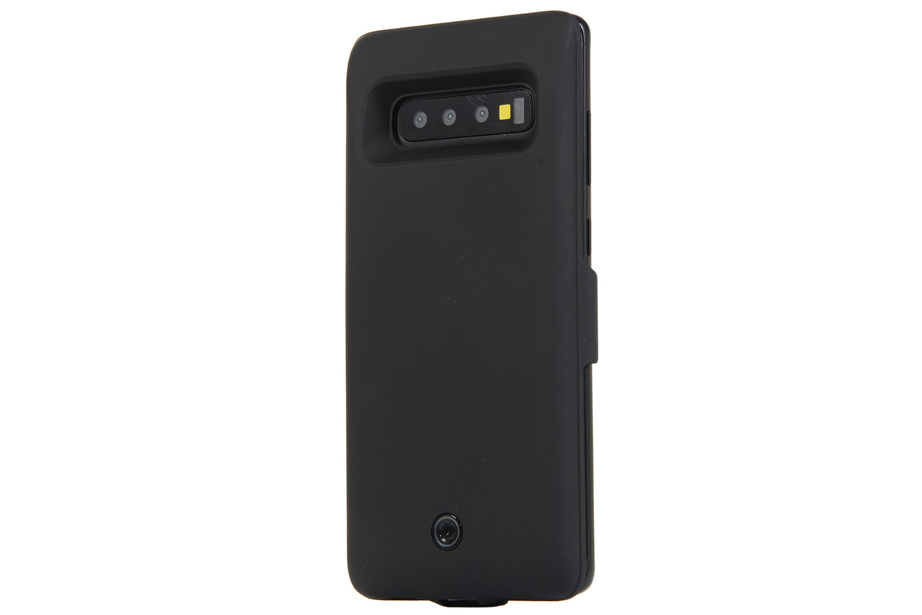 Black Matte Battery Power Samsung Phone Case