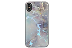 Purple Hint Holo Marble Battery Power Phone Case