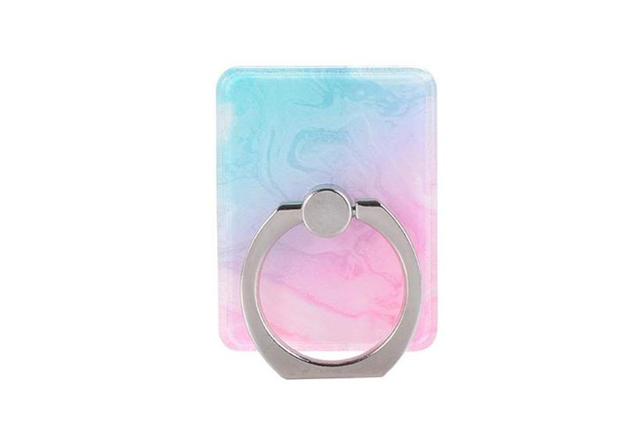 Cotton Candy Marble Ring Holder