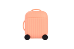 Peach Luggage AirPod Holder