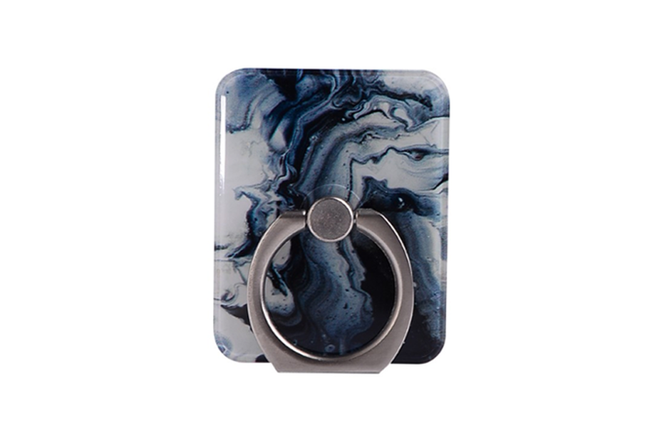 Blue Fusion Marble Ring Holder