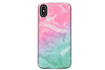 Cotton Candy Marble Battery Power Phone Case