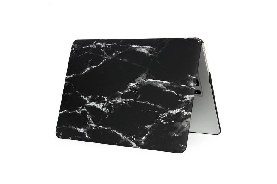Black Marble Macbook Protective Case