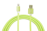 Lime Green Charge & Sync Cables