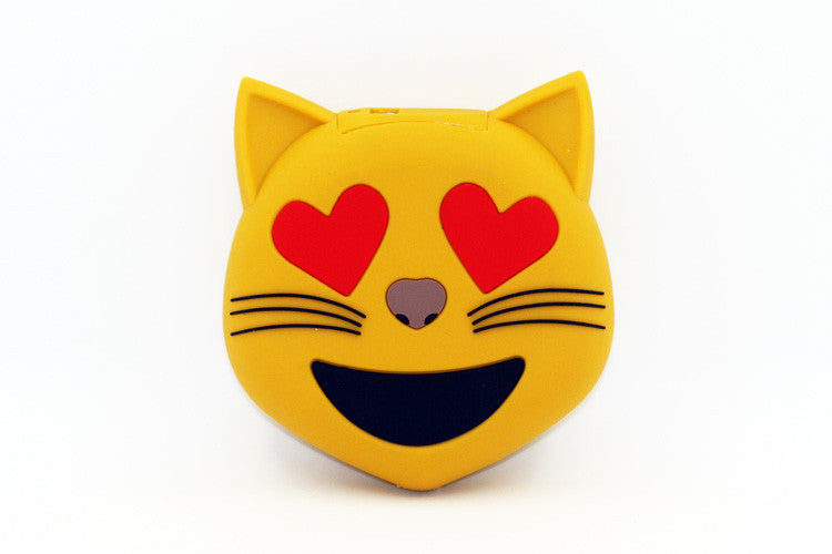 Kitty Heart Eyes Power Bank Charger