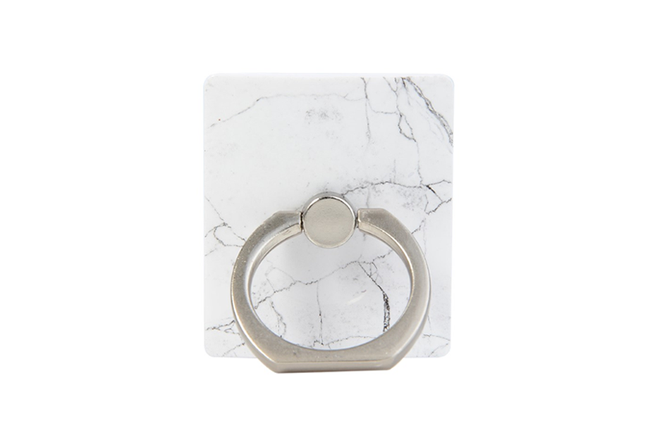 White Marble Ring Holder