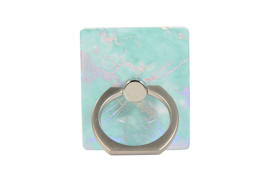 Mint Holo Marble Ring Holder