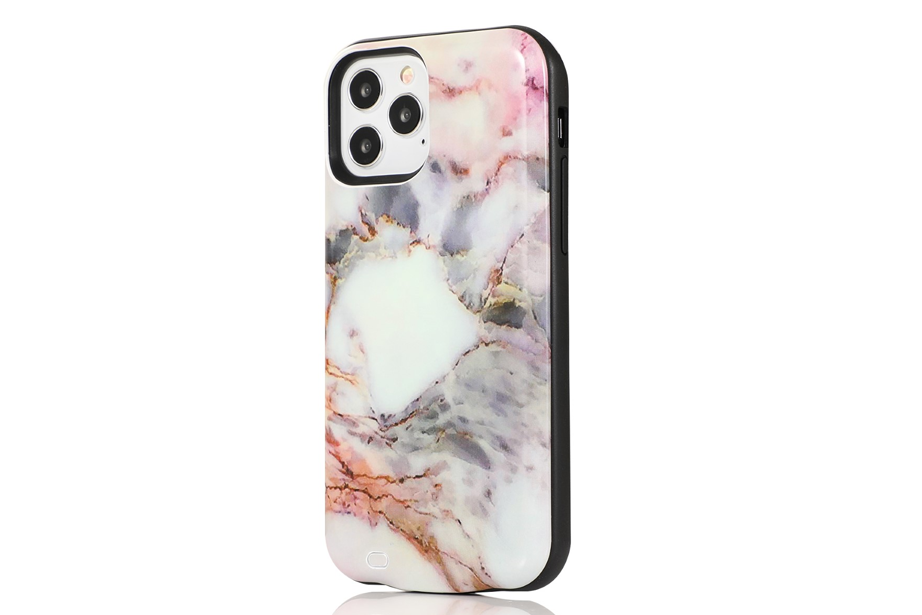 Pastel Canyon Marble Battery Case