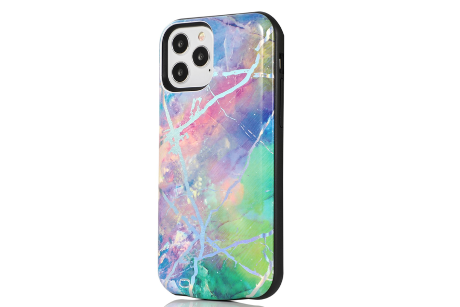 Candy Holo Marble Battery Case